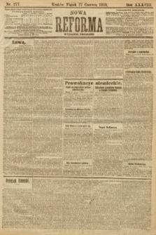 Nowa Reforma (wydanie poranne). 1919, nr277