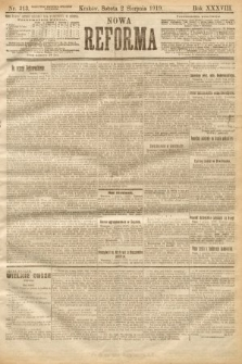 Nowa Reforma. 1919, nr313