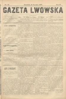Gazeta Lwowska. 1907, nr19