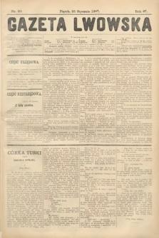 Gazeta Lwowska. 1907, nr20
