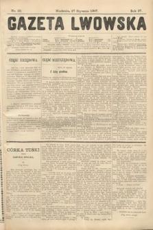 Gazeta Lwowska. 1907, nr22
