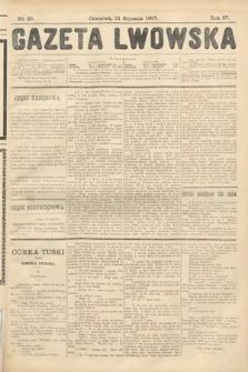Gazeta Lwowska. 1907, nr25