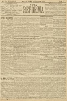 Nowa Reforma. 1921, nr189