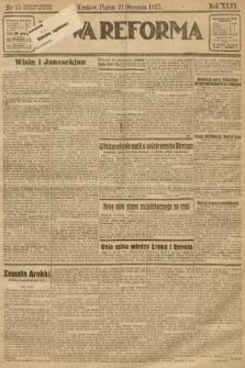 Nowa Reforma. 1927, nr15