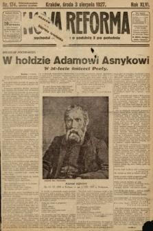 Nowa Reforma. 1927, nr174