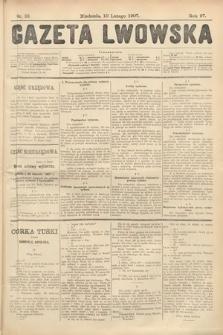 Gazeta Lwowska. 1907, nr33