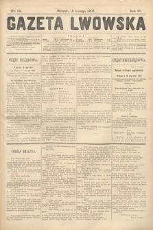 Gazeta Lwowska. 1907, nr34