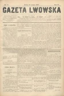 Gazeta Lwowska. 1907, nr35