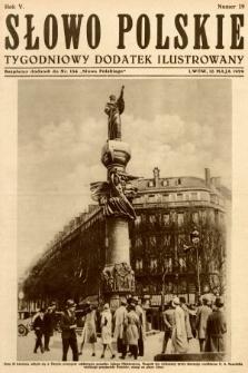 Słowo Polskie : tygodniowy dodatek ilustrowany. 1929, nr19