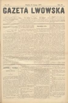 Gazeta Lwowska. 1907, nr37