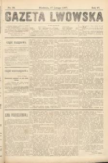 Gazeta Lwowska. 1907, nr39