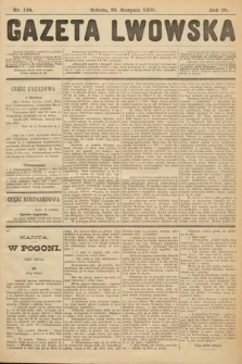 Gazeta Lwowska. 1905, nr194