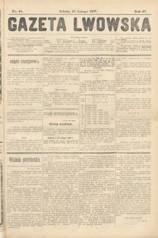 Gazeta Lwowska. 1907, nr44