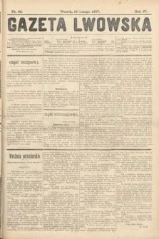 Gazeta Lwowska. 1907, nr46