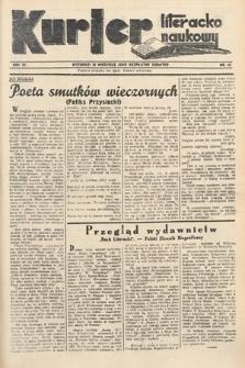Kurjer Literacko-Naukowy. 1935, nr46