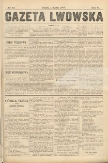 Gazeta Lwowska. 1907, nr49
