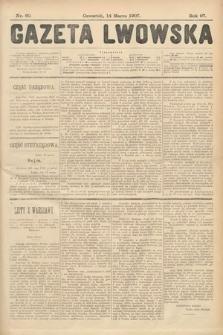 Gazeta Lwowska. 1907, nr60