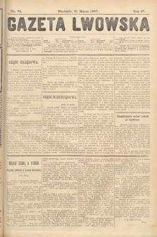 Gazeta Lwowska. 1907, nr74