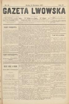 Gazeta Lwowska. 1907, nr81
