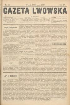 Gazeta Lwowska. 1907, nr86