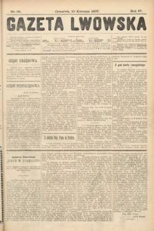 Gazeta Lwowska. 1907, nr88