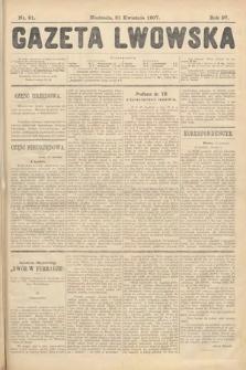 Gazeta Lwowska. 1907, nr91