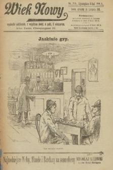 Wiek Nowy. 1901, nr115