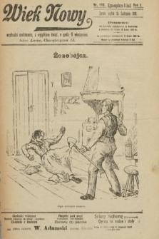 Wiek Nowy. 1901, nr116