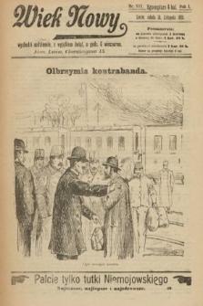 Wiek Nowy. 1901, nr117
