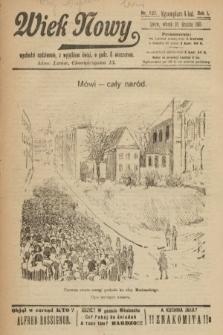 Wiek Nowy. 1901, nr137