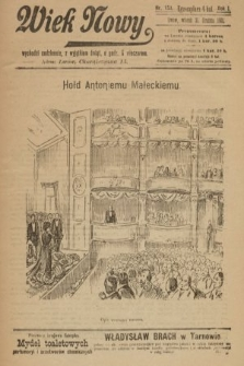 Wiek Nowy. 1901, nr153