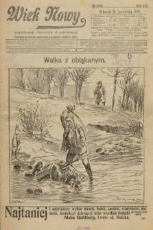 Wiek Nowy : popularny dziennik ilustrowany. 1908, nr2039