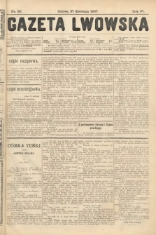 Gazeta Lwowska. 1907, nr96