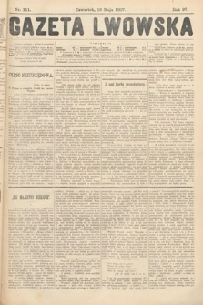 Gazeta Lwowska. 1907, nr111