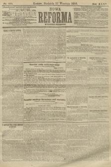 Nowa Reforma (wydanie poranne). 1916, nr468