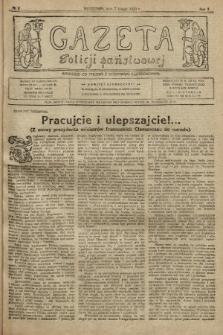 Gazeta Policji Państwowej. 1920, nr6