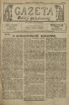 Gazeta Policji Państwowej. 1920, nr13
