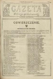 Gazeta Policji Państwowej. 1920, nr20