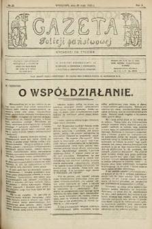 Gazeta Policji Państwowej. 1920, nr22