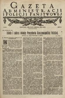 Gazeta Administracji i Policji Państwowej. 1924, nr24