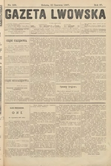 Gazeta Lwowska. 1907, nr135