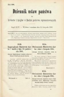 Dziennik Ustaw Państwa dla Królestw i Krajów w Radzie Państwa Reprezentowanych. 1906, cz.94