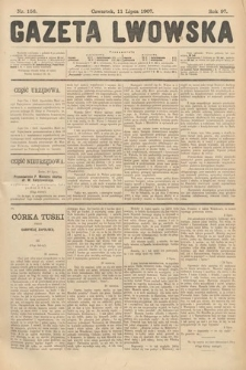Gazeta Lwowska. 1907, nr156