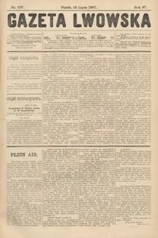 Gazeta Lwowska. 1907, nr157