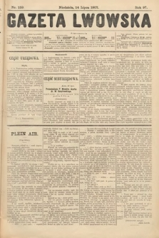 Gazeta Lwowska. 1907, nr159