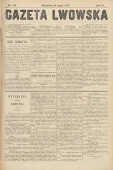 Gazeta Lwowska. 1907, nr171