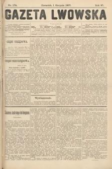 Gazeta Lwowska. 1907, nr174