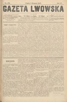 Gazeta Lwowska. 1907, nr175