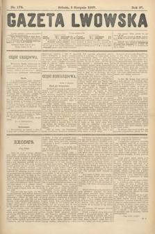 Gazeta Lwowska. 1907, nr176
