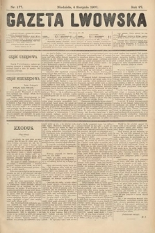 Gazeta Lwowska. 1907, nr177